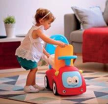 Guralice za djecu od 6 mjeseci - Guralica s ljuljačkom Maestro III Balade Smoby crveno-plava s elektroničkim volanom od 6 mjeseci_17