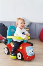 Guralice za djecu od 6 mjeseci - Guralica s ljuljačkom Maestro III Balade Smoby crveno-plava s elektroničkim volanom od 6 mjeseci_18