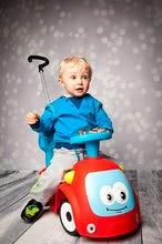 Guralice za djecu od 6 mjeseci - Guralica s ljuljačkom Maestro III Balade Smoby crveno-plava s elektroničkim volanom od 6 mjeseci_21