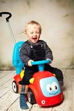 Guralice za djecu od 6 mjeseci - Guralica s ljuljačkom Maestro III Balade Smoby crveno-plava s elektroničkim volanom od 6 mjeseci_23