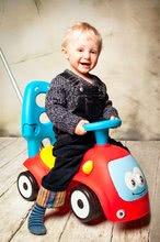 Guralice za djecu od 6 mjeseci - Guralica s ljuljačkom Maestro III Balade Smoby crveno-plava s elektroničkim volanom od 6 mjeseci_24