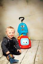 Guralice za djecu od 6 mjeseci - Guralica s ljuljačkom Maestro III Balade Smoby crveno-plava s elektroničkim volanom od 6 mjeseci_27