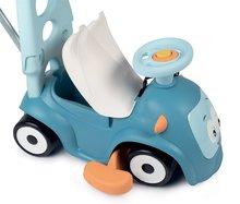 Guralice za djecu od 6 mjeseci - Guralica s dodacima Maestro Ride-On Pink 3in1 Smoby s 3 zvuka i upravljačka drška s obručem - čarobne oči od 6 mjes_0