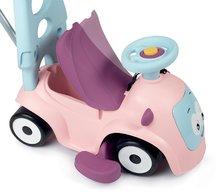 Bébitaxik 6 hónapos kortól - Bébitaxi bővithető Maestro Ride-On Pink 3in1 Smoby 3 hang tolókar kiesésgátló - mágikus szemek 6 hó-tól_0