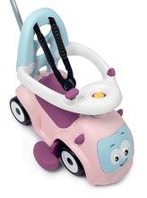 Bébitaxik 6 hónapos kortól - Bébitaxi bővithető Maestro Ride-On Pink 3in1 Smoby 3 hang tolókar kiesésgátló - mágikus szemek 6 hó-tól_3
