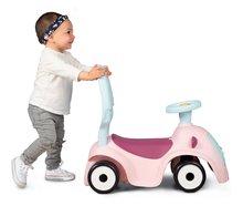 Bébitaxik 6 hónapos kortól - Bébitaxi bővithető Maestro Ride-On Pink 3in1 Smoby 3 hang tolókar kiesésgátló - mágikus szemek 6 hó-tól_6