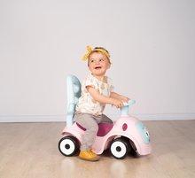 Bébitaxik 6 hónapos kortól - Bébitaxi bővithető Maestro Ride-On Pink 3in1 Smoby 3 hang tolókar kiesésgátló - mágikus szemek 6 hó-tól_10