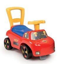 Smoby detské odrážadlo a chodítko Fireman Sam Auto 2v1 720506 červeno-žlté