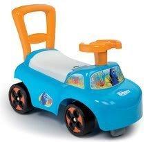 Smoby detské odrážadlo a chodítko Finding Dory Auto 720507 modro-oranžové
