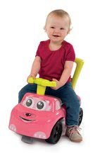 Dětská chodítka - Odrážedlo a chodítko Auto Fille 2v1 Smoby růžové od 10 měsíců_5