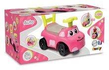 Dětská chodítka - Odrážedlo a chodítko Auto Fille 2v1 Smoby růžové od 10 měsíců_6