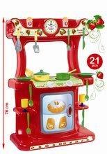 Bucătării simple de jucărie - Bucătărie Strawberry Dohány cu 21 de accesorii de la 18 luni_0