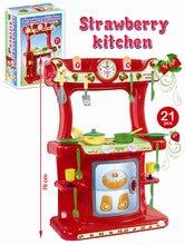 Bucătării simple de jucărie - Bucătărie Strawberry Dohány cu 21 de accesorii de la 18 luni_1