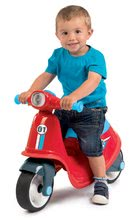 Odrážedlo motorka s reflektorem Scooter Red Smoby červené