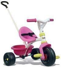 Tricikl Be Fun Pink Smoby s upravljačkom drškom od 15 mjeseci ružičasto-zeleni 68*52*52 cm SM740322 s upravljačkom drškom ružičasti od 15 mjeseci