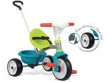 Tricikli Be Move Blue Smoby EVA gumikerekekkel és szabadonfutó 15 hó kortól kék