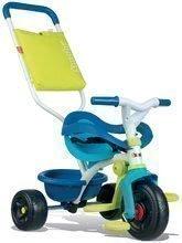 Tricikel Be Fun Confort Blue Smoby z EVA kolesi modro-zelen od 10 mes