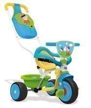 Tricicletă Purceluşa Peppa Pig Be Move Confort Smoby cu mâner de împins şi cu cadru protector de la vârsta de 10 luni