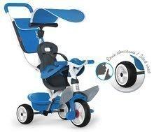 Detská trojkolka s opierkou Baby Balade Blue Smoby Smoby 741102 modrá