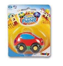Avtomobilčki - Avtomobilček Vroom Planet Smoby dolžina 7 cm različne barve od 18 mes_0