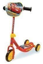 Koloběžka pro děti Auta 3 Smoby tříkolová s nastavitelnou rukojetí od 2,5 let