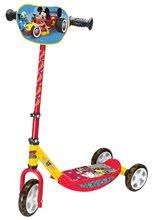 Gyerek háromkerekű roller Mickey Smoby 67-70 cm állítható kormánnyal csúszásgátlóval 3 éves kortól 52*32*72 cm SM750166