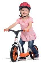 Odrážadlá od 18 mesiacov - Balančné odrážadlo Learning Bike Smoby s nastaviteľnou výškou sedadla čierno-oranžové od 24 mes_0