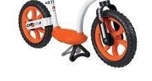 Odrážadlá od 18 mesiacov - Balančné odrážadlo Learning Bike Smoby s nastaviteľnou výškou sedadla čierno-oranžové od 24 mes_1