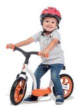 Odrážadlá od 18 mesiacov - Balančné odrážadlo Learning Bike Smoby s nastaviteľnou výškou sedadla čierno-oranžové od 24 mes_4
