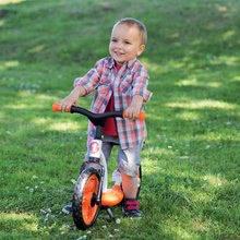 Odrážadlá od 18 mesiacov - Balančné odrážadlo Learning Bike Smoby s nastaviteľnou výškou sedadla čierno-oranžové od 24 mes_5