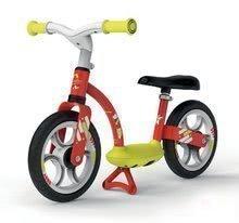Poganjalno kolo Balance Bike Comfort Red Smoby s kovinsko konstrukcijo in po višini nastavljivim sedežem od 24 mes