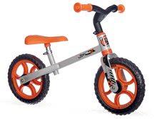 Smoby balančné odrážadlo First Bike 770200 oranžovo-čierne