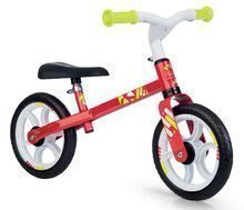Smoby balančné odrážadlo First Bike Red s kovovou konštrukciou a nastaviteľným sedadlom 770204