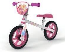 Tanulóbicikli Disney Princess First Bike Smoby fémszerkezettel és állítható üléssel 24 hó kortól