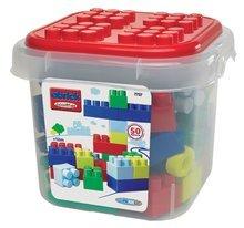 Baba építőjáték és kockák - Építőkockák dobozban Abrick Maxi Écoiffier 50 db-os 12 hó-tól_1