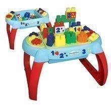 Építőjáték legkisebbeknek Les Maxi Écoiffier asztalka 32 kockával különféle alakzatban 12 hó-tól