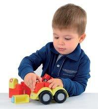 Stavebnice pre najmenších - Stavebnica Abrick Maxi 4 autíčka Écoiffier od 12 mes_0