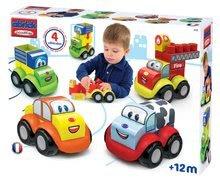 Stavebnice pre najmenších - Stavebnica Abrick Maxi 4 autíčka Écoiffier od 12 mes_1