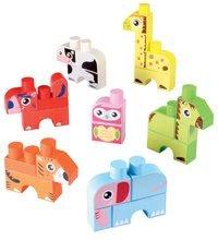 Stavebnice pre najmenších - Stavebnica Maxi Abrick 7 zvieratiek Écoiffier od 12 mes_0