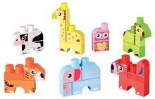 Stavebnice pre najmenších - Stavebnica Maxi Abrick 7 zvieratiek Écoiffier od 12 mes_1