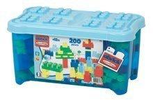Építőjáték Maxi Abrick Écoiffier kék dobozban 12 hónapos kortól 200 db