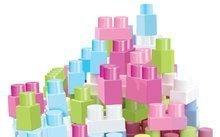 Stavebnice pre najmenších - Stavebnica Maxi Abrick Écoiffier ružová krabica 75 dielov od 12 mes_0
