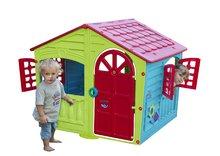 Domčeky pre deti - Domček Fun Happy House PalPlay s dvoma dverami a hodinami od 24 mes_0