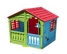 Domčeky pre deti - Domček Fun Happy House PalPlay s dvoma dverami a hodinami od 24 mes_1
