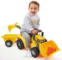 Guralice za djecu od 12 mjeseci - Guralica s prikolicom Backhoe Ride on Maxi Abrick Ecoiffier s bagerom i utovarivačem 8 maxi kocki od 12-36 mjes_5