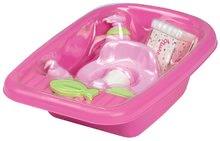 Doplnky pre bábiky - Vanička pre bábiku Nursery Écoiffier s doplnkami ružová od 18 mes_3