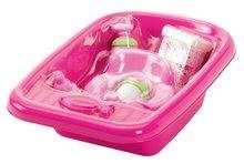 Doplnky pre bábiky - Vanička pre bábiku Nursery Écoiffier s doplnkami ružová od 18 mes_1