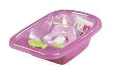 Doplnky pre bábiky - Vanička pre bábiku Nursery Écoiffier s doplnkami ružová od 18 mes_4