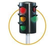 Šmykľavky sety - Set šmykľavka Toboggan XL Smoby s vodou dĺžka 230 cm a automatický semafor, dopravné značky a cestné kužele_6