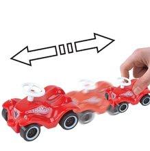 Odrážadlá sety - Set odrážadlo New Bobby BIG s klaksónom tyrkysové a autíčko Mini Bobby na naťahovanie od 12 mes_6